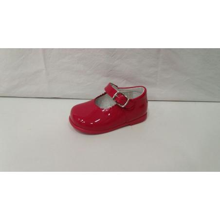 Merceditas Rojo 2017 Moda Shoes