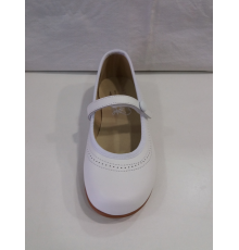 Mercedes blanco 602 Moda shoes