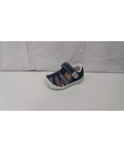 Sandalia algodón jeans 72638 Zapy