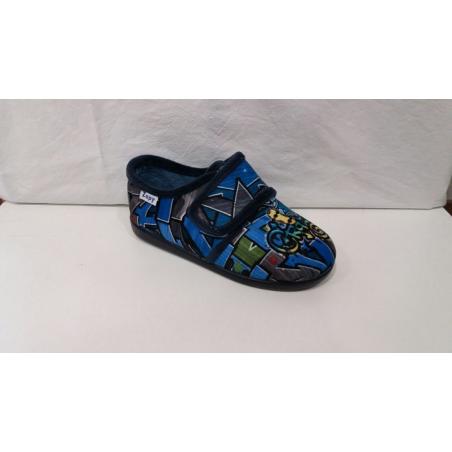 Zapatilla Paño Jeans Marino R40738 Zapy