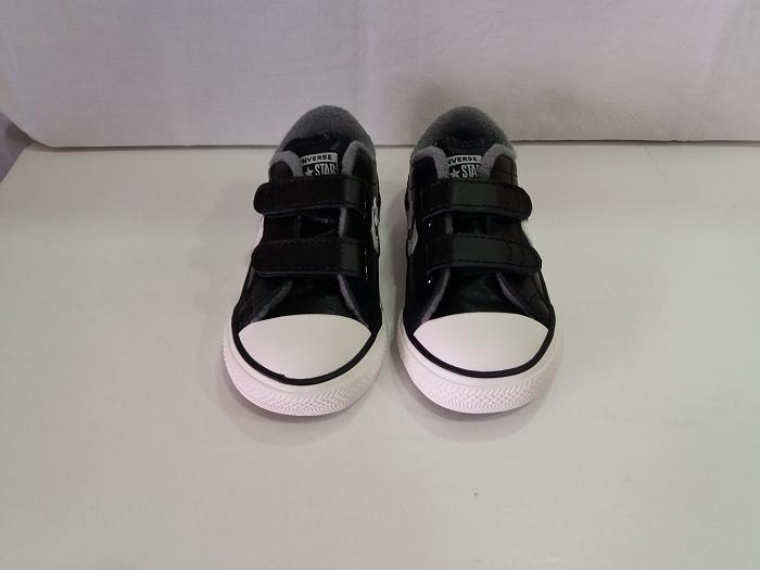 Deportivo Star Player Converse 762015c Black (negro) Velcro