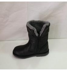 Botín bota piel 1855 negra Arantxa