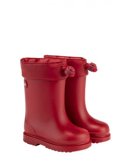 Bota Agua Rojo Chufo Igor