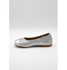 Zapato Piel 12203 Plata Mongot