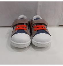 Zapatilla Puntera Goma W51138 Jeans Naranja Zapy